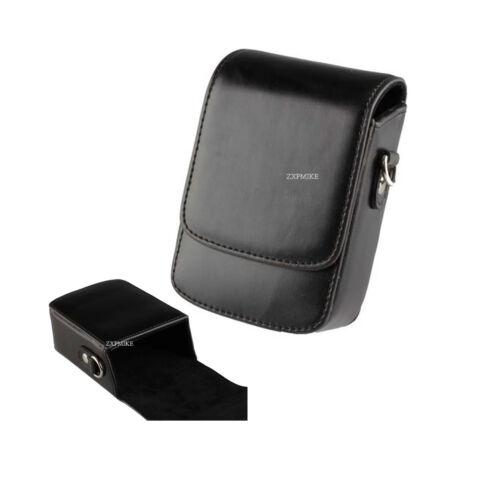 Funda Cámara learther 14B Negro para Panasonic DMC GX80 GX80