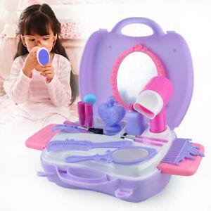 Toddler Vanity Set Pretend Play Makeup Girls Portable Toys ...
