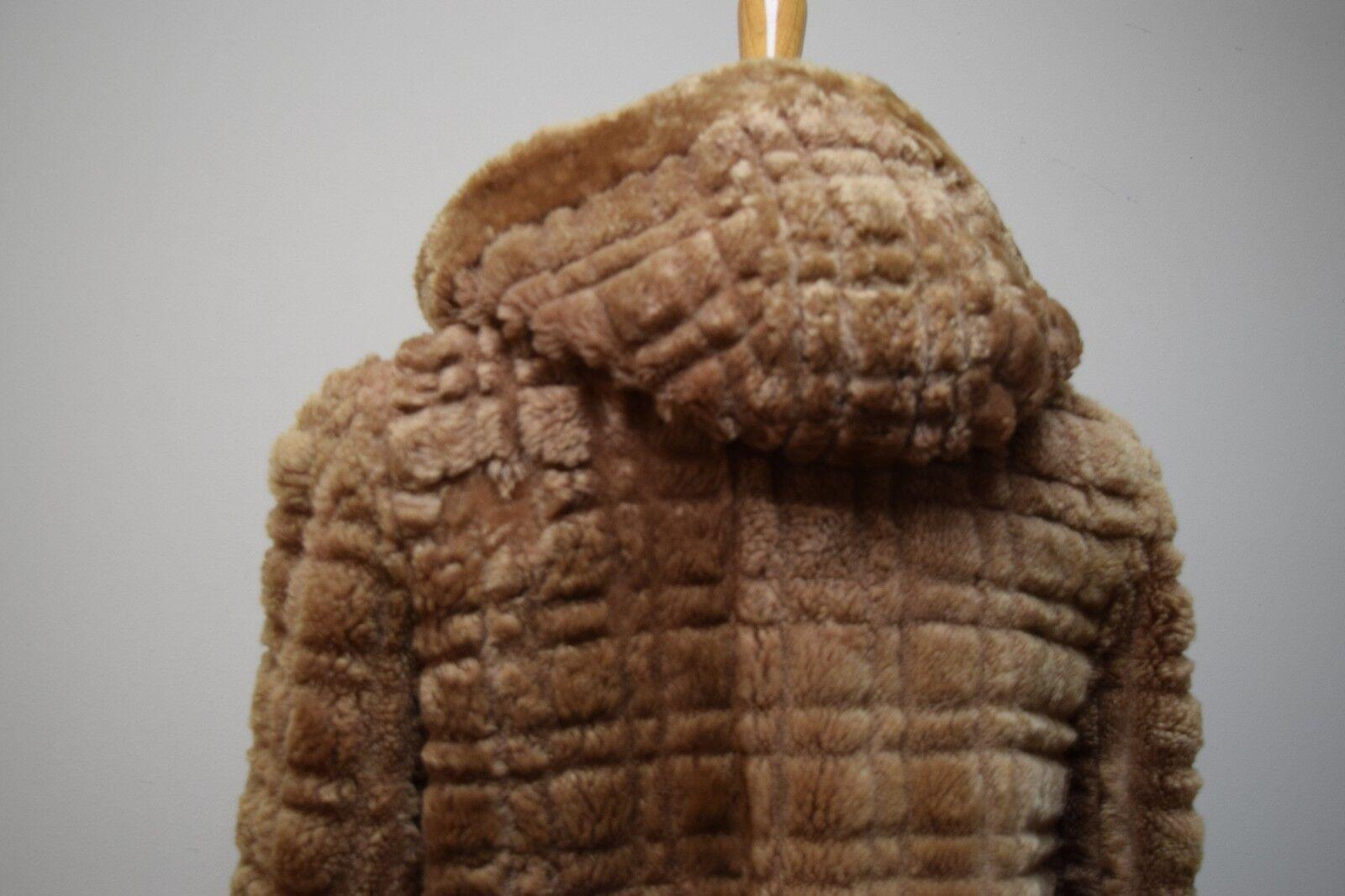 VINTAGE 1930s/40s Sheared Fur Mouton Skating Skii… - image 5