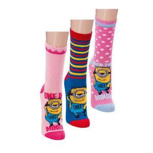 Minions-Socken-Maedchen-Struempfe-Minion-Kinder