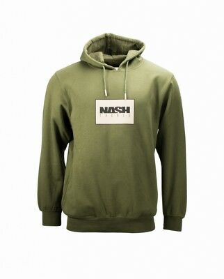 Nash Sweatshirt Green Hoody