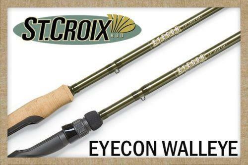 Croix Eyecon Walleye Series Spinning Fishing Rod St