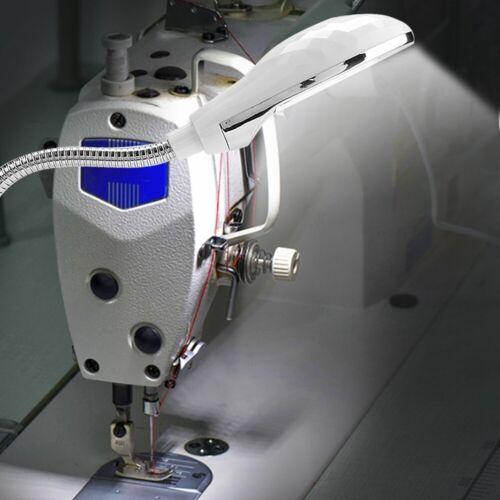14LED Superhell Nähmaschine Lampe Leuchte mit Magnetschalter Schwanenhals Lampe