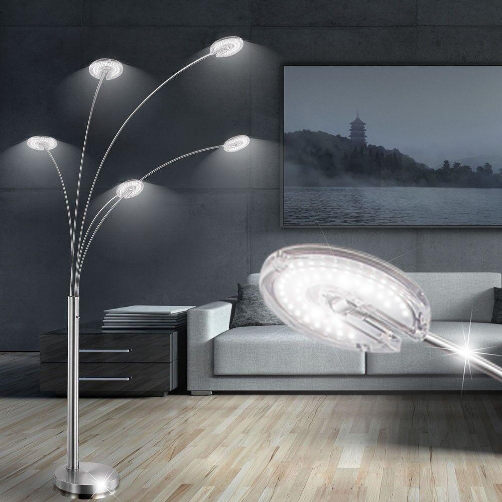LED Lámpara De Mesa De Luz Curvo Curvo Luz postura 20 W cena Living Sala techos Fluter 6eff27