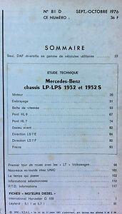 RTA Diesel du 10/1988; Mercedes-Benz 1935 jusque fin 1988 série 1944/ Nissan SD Overig Auto: tijdschriften en boekjes