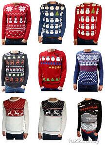 Mens-amp-Ladies-novelty-christmas-xmas-winter-festive-fairisle-jumpers-vtg-retro