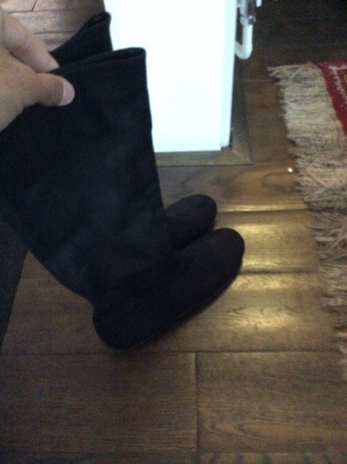 EASLEY women BALLY  Black  boots size  37