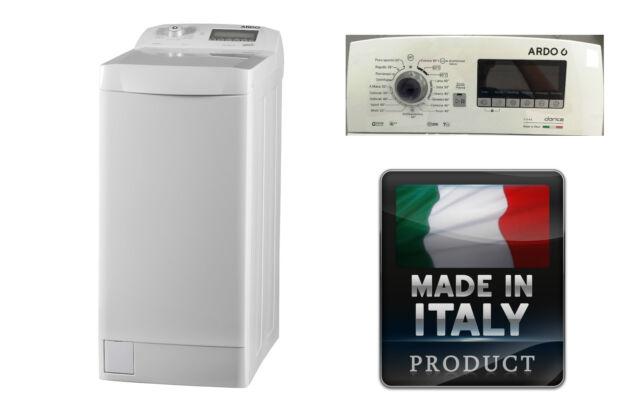 LAVATRICE CARICA DALL' ALTO ARDO TL127LW made in Italy 7 kg 1200 g. A+++