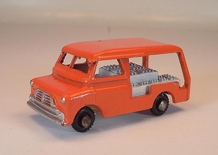 BENBROS MORESTONE environ 1 70 nº 39 Bedford Milk Van Camion Orange Nº 2  335