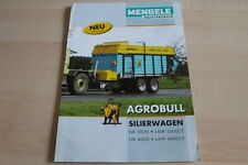 128157) Mengele Agrobull Silierwagen Prospekt 10/2009