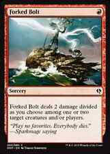 Forked Bolt NM x4 Duel Decks Zendikar vs. Eldrazi MTG Magic Red Common