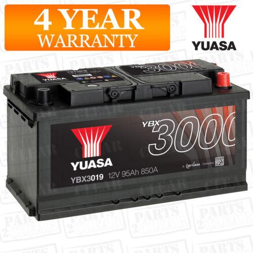 Yuasa YBX3019 Smf Battery Electrical Fit BMW 7 Series E65 E66 E67 2001-2016