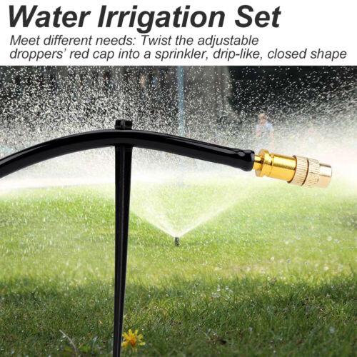 15M DIY Automatische Tropfschlauch Bewässerungssystem Garten Tropfbewässerung
