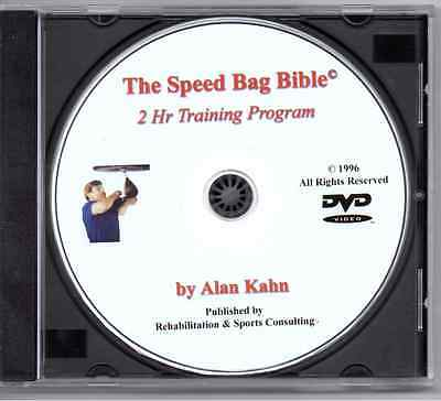 The Speed Bag Bible comprehensive training-official DVD