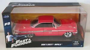 1-24-Scale-JADA-Fast-and-Furious-Dom-039-s-Chevy-Impala-Red-98426