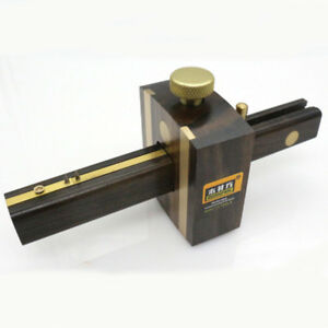 Ebony-Deluxe-British-Marking-Gauge-with-Brass-Screw-Carpenter-woodworking-tool