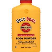 Gold Bond Original Strength Body Powder 10 Oz Medicated Healing