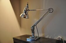 Anglepoise Lamp 1930's Deco Retro English Design Classic Early Rimmed Shade