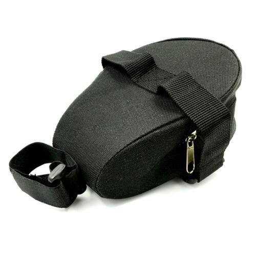Waterproof Bike Cycling Saddle Bag Seat Pouch Black Bicycle Tail Rear Storage