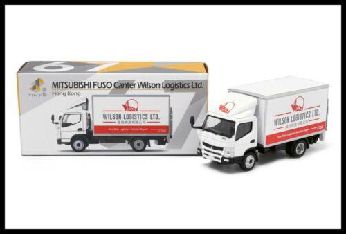 TINY 67 Mitsubishi Fuso Canter Box Lorry Wilson Logistics LTD 1//76 HONG KONG
