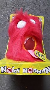 NOISY NORMAN Interactive Novelty Toy *NEW & SEALED* Great for Kids Parties!