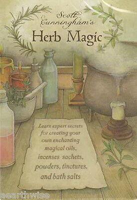 NEW Scott Cunningham's Herb Magic DVD video, 2010 Wicca Witch Pagan Goth