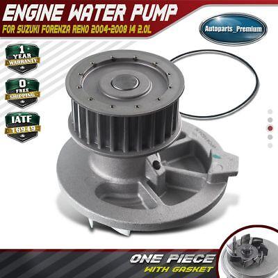Engine Water Pump W/ Gasket for Suzuki Forenza Reno 2004 ...