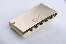 KGC Brass Import Made in Mexico MIM Strat Super Sustain Block - World's Finest