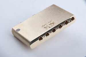 Details about KGC Brass Tremolo Block for Made in Mexico Fender  Stratocaster - Highest Quality