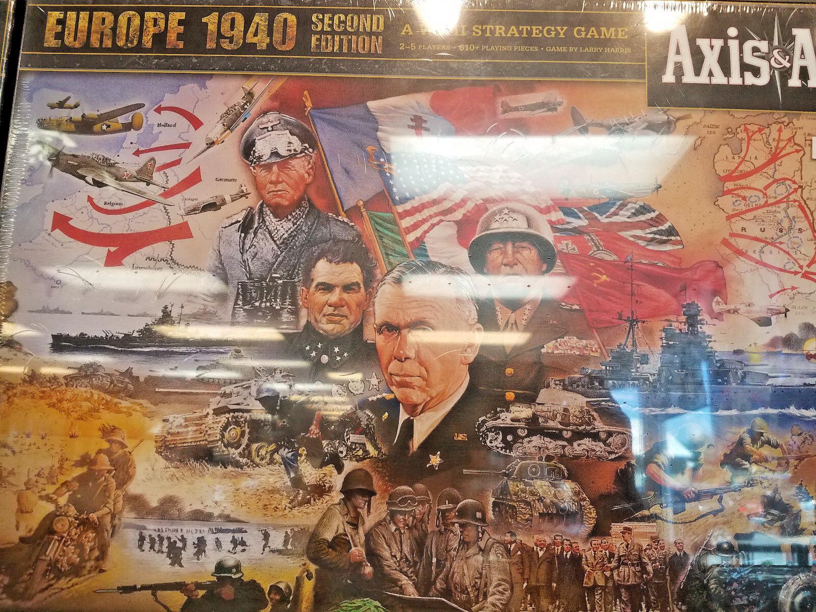 Eje y aliados 1940 Europa Segunda Edición-Juego de mesa guerra nuevo un & a