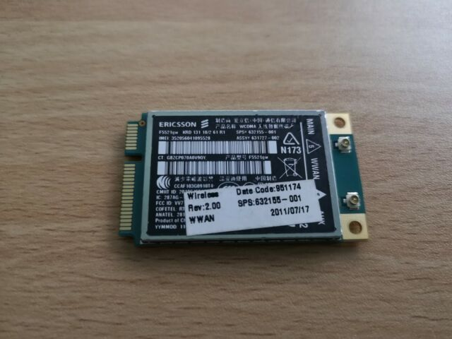 ERICSSON F5521GW MOBILE BROADBAND MODULE WINDOWS VISTA DRIVER DOWNLOAD