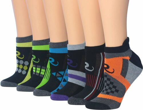 Ronnox Women/'s 6-Pairs Low Cut Running /& Athletic Performance Tab Socks