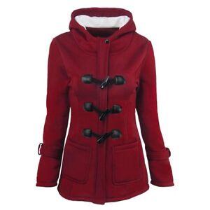 Women-Warm-Coat-Jacket-Outwear-Trench-Winter-Hooded-Long-Parka-Overcoat-Tops-EC