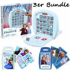 Frozen / Eiskönigin Bundle - MATCH + Top Trumps 1 & 2 Spiel Gesellschaftsspiel