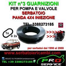 kit 3 guarnizioni per serbatoio FIAT PANDA 4X4 INIEZIONE cod.75482321 7544347