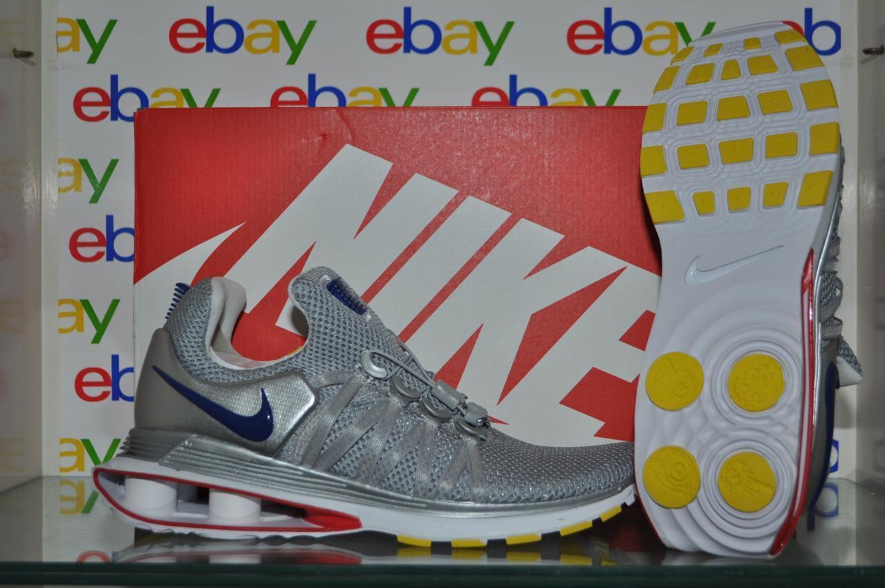 Nike Shox Gravity AR1999 046 Mens Running Shoes Metallic Silver NIB