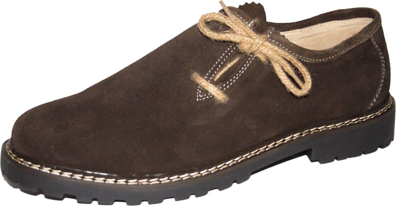 Haferl- Trachtenschuhe mit  Seitenschnürung  mit Schuhe hasel c35195
