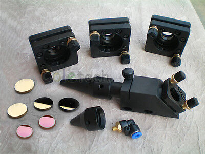 CO2  Laser Head Mirror & Lens Integrative  Mount for 40W- 150W Engraver Cutter