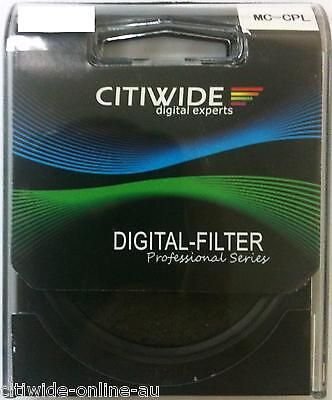 CW 77mm Slim Multi coated MC CPL Filter DSLR  #031339