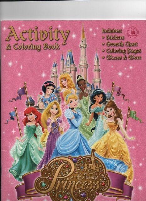 Walt Disney World Princess Coloring & Activity Book For Sale Online EBay
