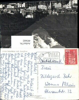 493682,stempel Tell Freilichtspiele Interlaken