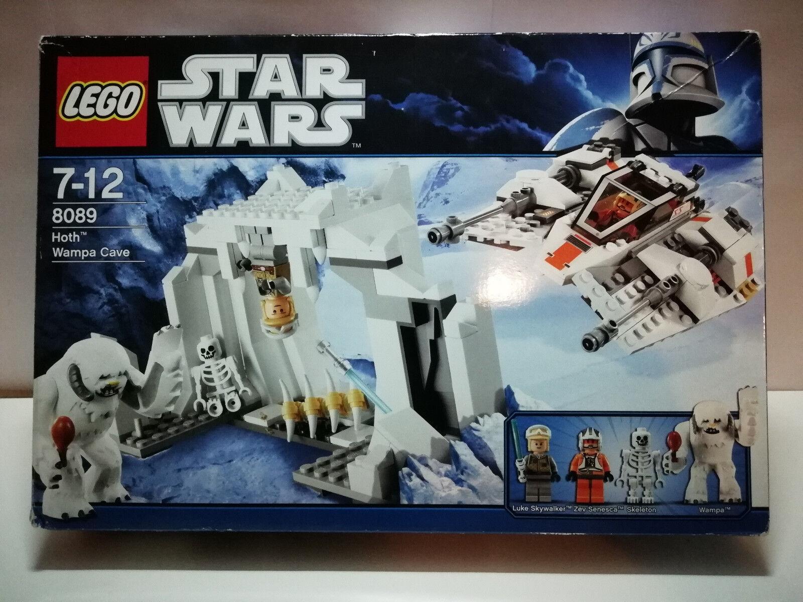 LEGO Star Wars 8089 Hoth Wampa Cave - OVP BA & alle Figuren