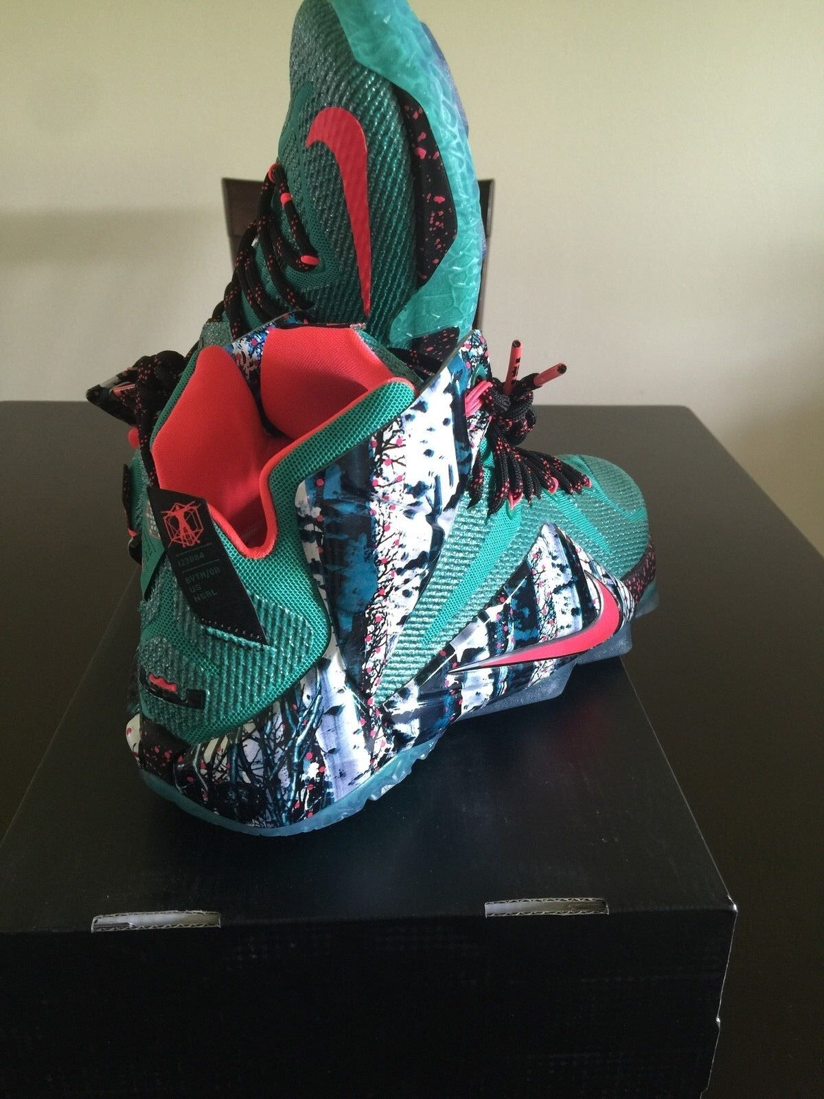 Nike AIR LEBRON XII Xmas green red 14 10 9 What The gold 11 Black asg Christmas