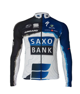 SAXO BANK SUNGARD-TEAM NEU Gr LANGARM TRIKOT M,L,XL NEU ////////////////////