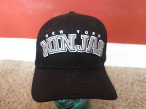 Rare New York Ninjas Rock Smith Rocksmith black New Era hat snapback ... 689aad053fd