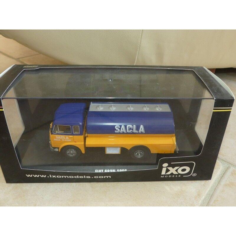 FIAT 682N 1966 CITERNE SACLA IXO TRU011 1 43