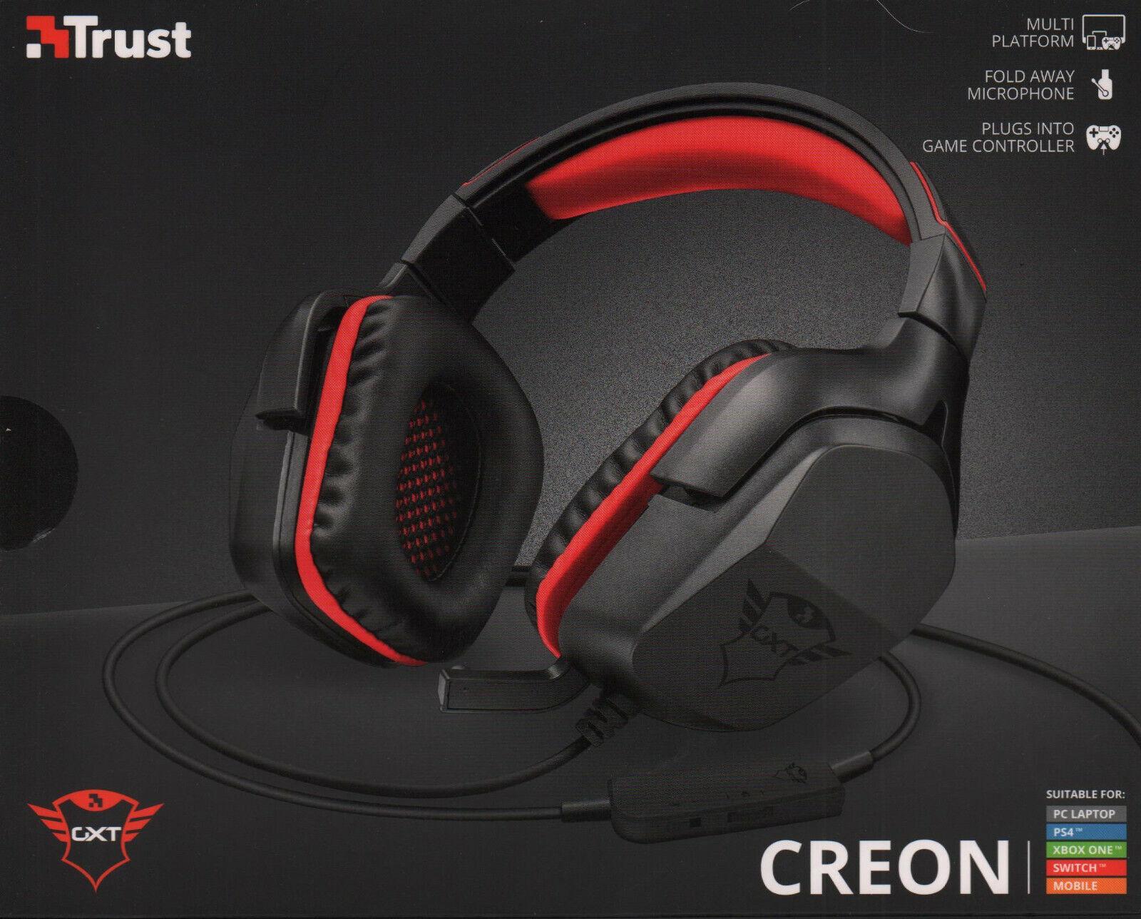 Auricular Gamer Trust Gxt 344 Creon