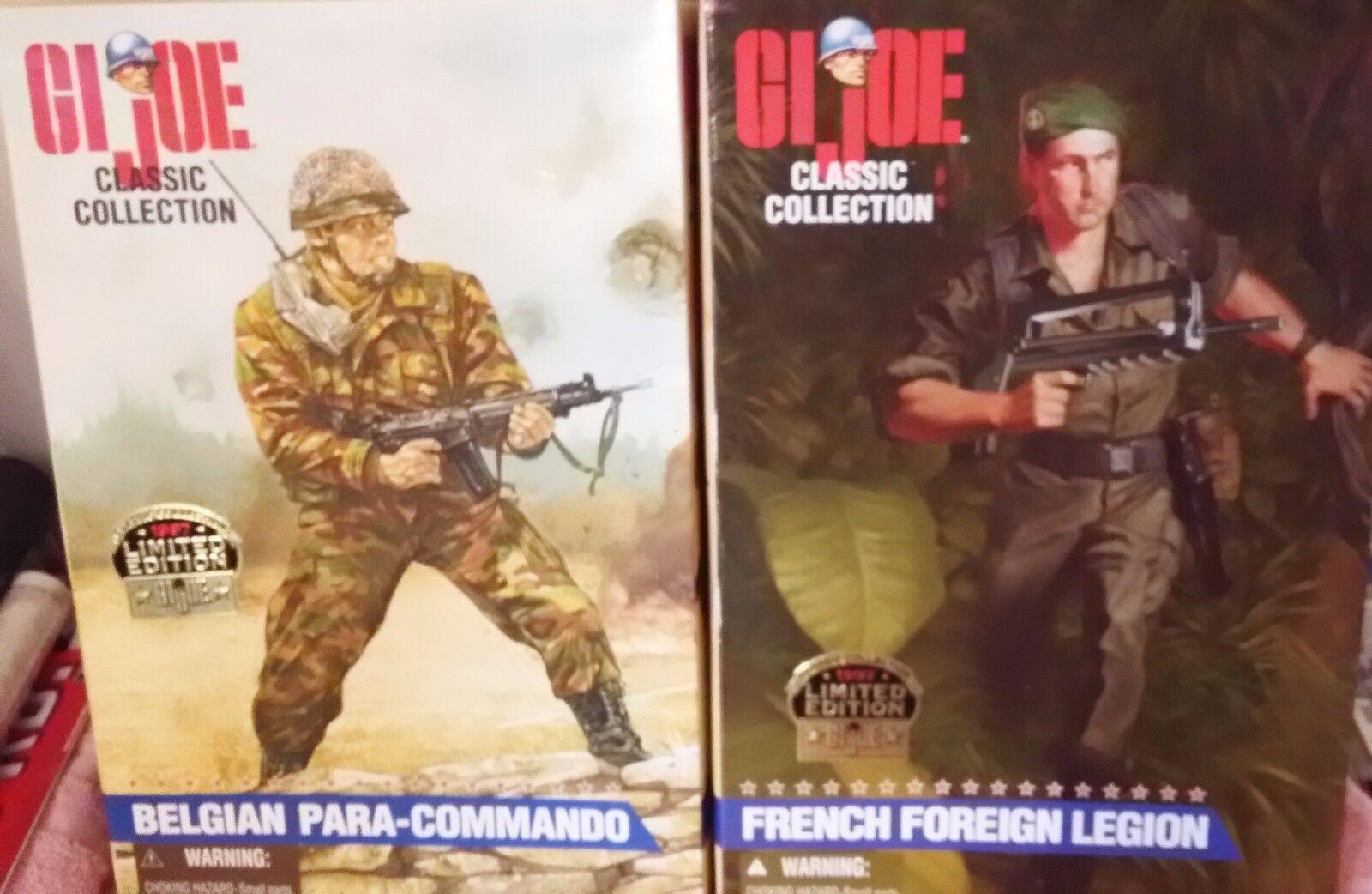 GI Joes ~ Belgian Para-Commando & French Foreign Legion ~ Action Figures