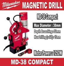Milwaukee Md 38 Magnetic Drilling Press Stand Compact Euro Spec Plug 1050 Watts