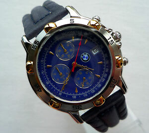 BMW-Classic-Collection-Car-Accessory-Sport-Made-in-Germany-Watch-Chronograph